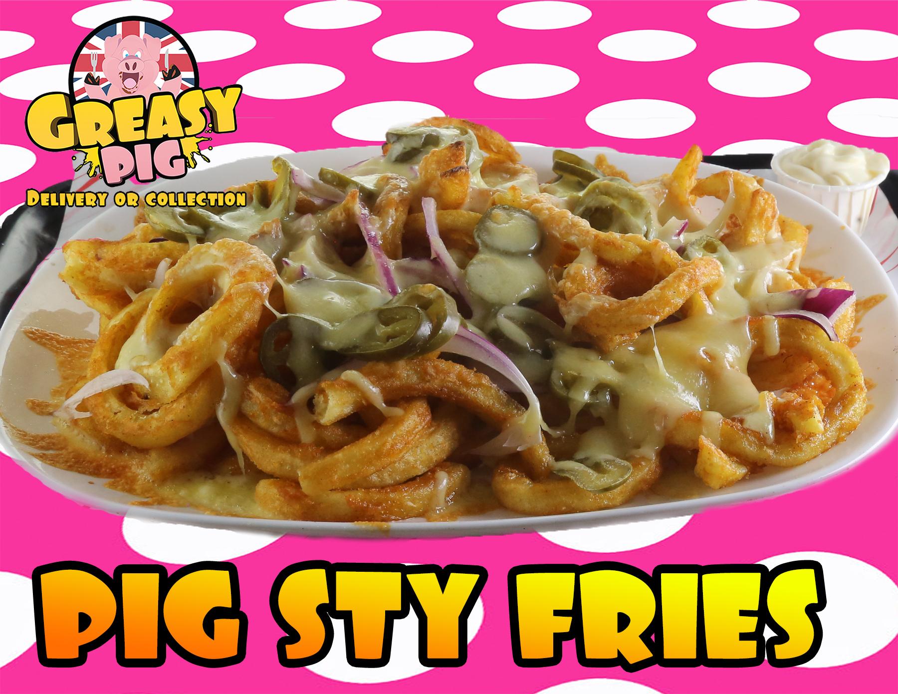 pig sty fries